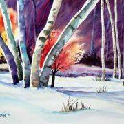 Five-Birches