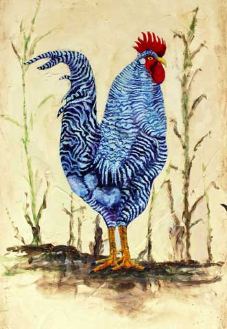 235-Blue-Rooster